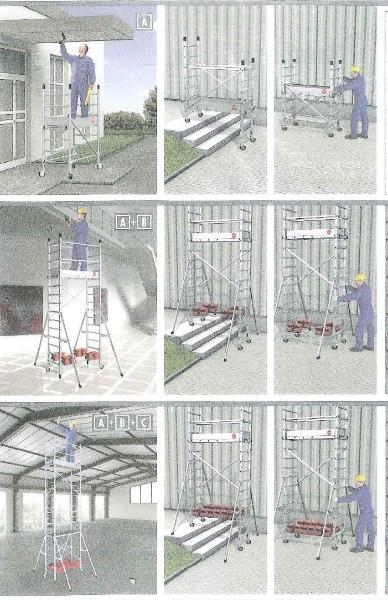 echafaudages bricolage vente echafaudages en belgique. Black Bedroom Furniture Sets. Home Design Ideas